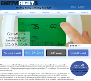 Cartwright's Plumbing Heating & Cooling